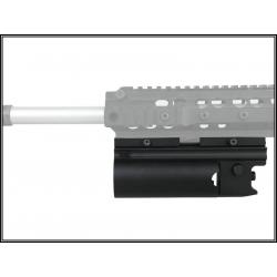 Plynový granátomet XM203 pro RIS, krátký, černý