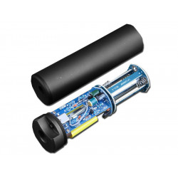 AIRSOFT AUTO TRACER LIGHT SILENCER 150MM