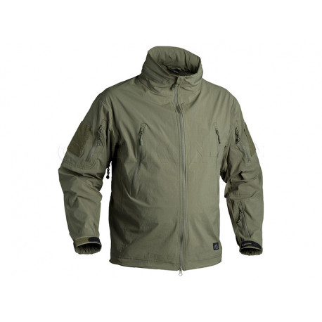 TROOPER Soft Shell Jacket GREEN, SIZE S