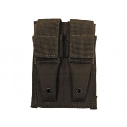 Pouch MOLLE Double the gun. stocks. OLIVE