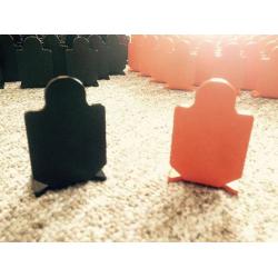 Terč malý (3ks) - oranžový