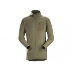 Funkční tričko Arc\'teryx LEAF Cold WX Zip Neck AR Crocodile, velikost XS