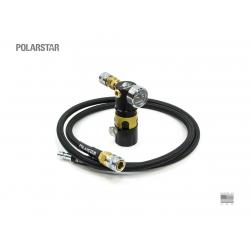 "PolarStar MRS Regulator Air Rig w/ Braided Air Line (42"", Black)"