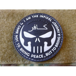 JTG THE INFIDEL PUNISHER Patch, swat