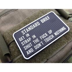 JTG Standard Briefing Patch, barevný