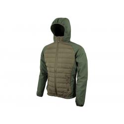 Bunda SNEAKER softshell/fleece ZELENÁ, velikost S