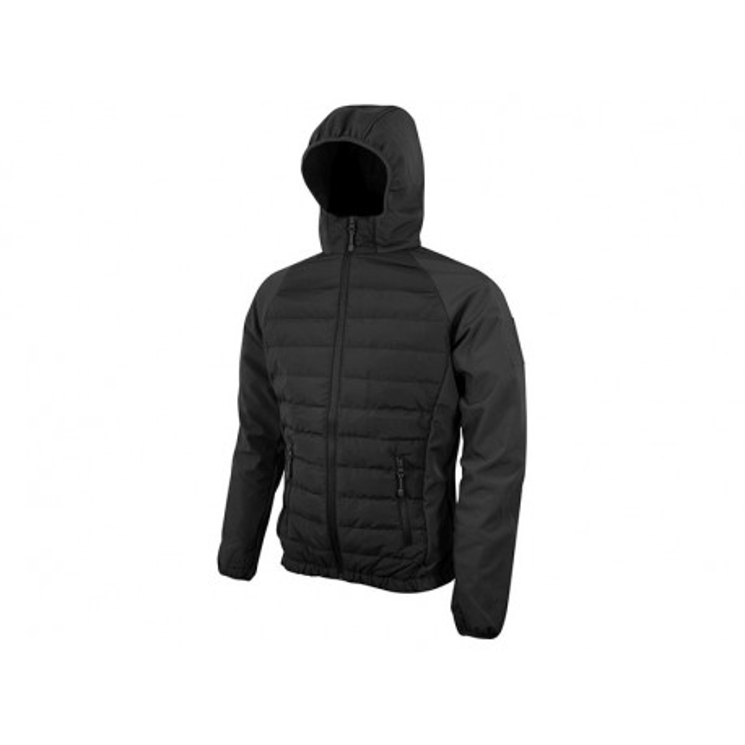 Bunda SNEAKER softshell/fleece ČERNÁ, velikost S