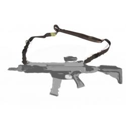 Gun sling single- and double-port - BLACK