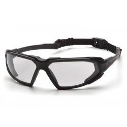 Protective goggles Highlander ESBB5010DT, anti-fog - clear