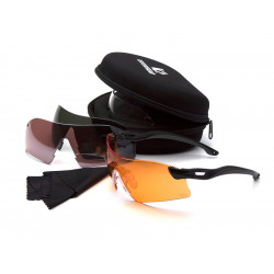 Protective glasses Venture Gear Dropzone VGSB88KIT with 4 anti-fog lenses
