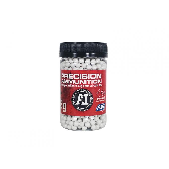 Precision Ammunition Heavy 0,43 gram 6mm BBs