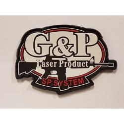 Patch PVC 3D  G&P