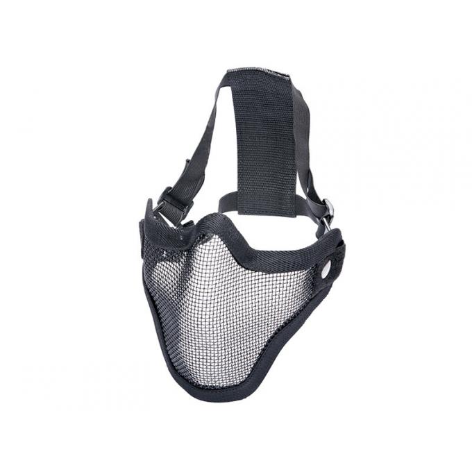 Metal mesh mask, black