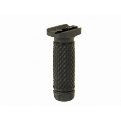 Vertical keymod Ball Ball Foregrip (Long) – black