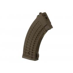 Zásobník pro AK47 (Waffle) 550ran,pískový - točný