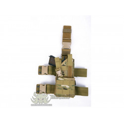 Taktické stehenní pouzdro Thunder Universal, Multicam