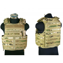 RAV neprůstřelná vesta MOD/Molle (kopie), velikost L, multicam