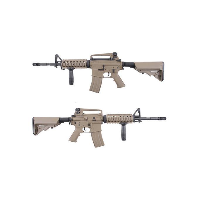 M4 R.I.S - full metal (CM007) - TAN