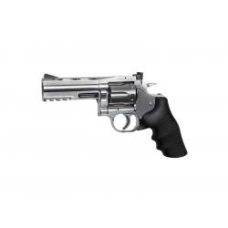 """Dan Wesson 715 - 4""""Revolver, silver"""