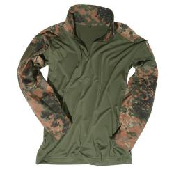 Tactical shirt with a collar Flecktarn, size S