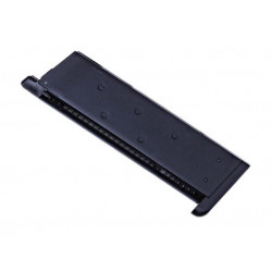 WE 15 Rds Gas Magazine for M1911 ( Black ), TYPE B