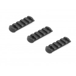 M-Lok Rail, Short, 3 pcs/set