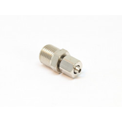 Direct Screwdriving coupling for 4mm hose - male thread 1/8NPT