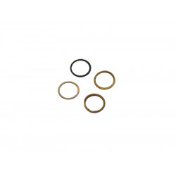 Distanční podložka límečku hop-up gumičky (set 2ks 0,4 + 0,6mm)