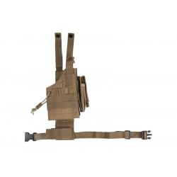 Oboustranné stehenní pouzdro pro pistol US MODULAR COYOTE