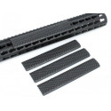 Keymod Soft Rail Cover A (Black) - 4PCS