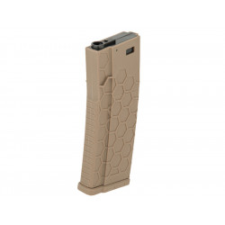 Hexmag style airsoft 120rds magazines for M4 AEG - DE