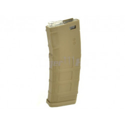 CYMA 400rds PMAG Hi-Cap Magazine For M4 / M16 Rifle (Tan)