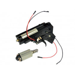 CYMA Complete Gearbox Set for M4 AEG (Front Wiring)