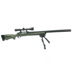 U.S. Socom M24 - OD, scope, bipod (SW-04JG++)