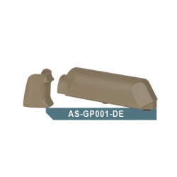 Amoeba (ARES) Striker AS01 Pistol Grip & Cheek Pad Set, TAN