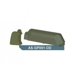 Pistolová rukojeť a lícnice pro Amoeba Striker AS01 - olivová