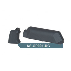 Amoeba (ARES) Striker AS01 Pistol Grip & Cheek Pad Set, Gray