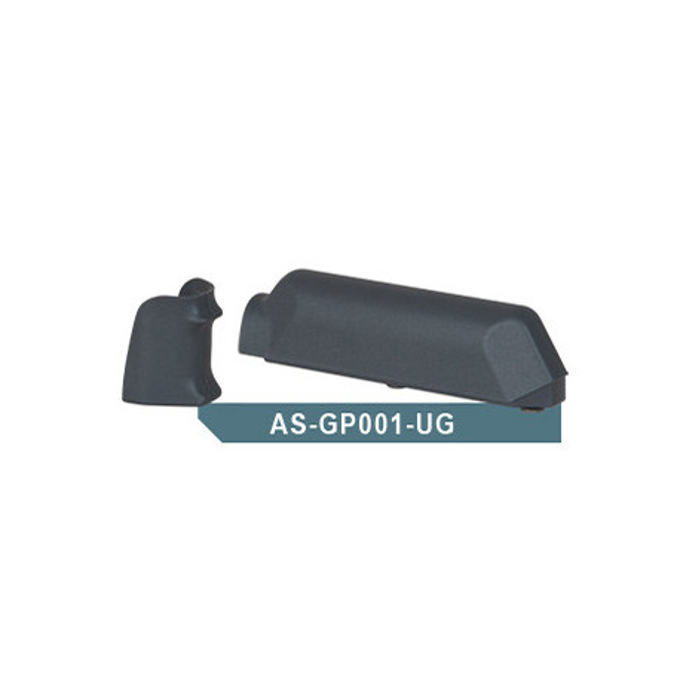 Amoeba (ARES) Striker AS01 Pistol Grip & Cheek Pad Set, Gray