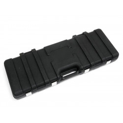 Hard Gun Case with Sponge (Black) 30 x 86 cm
