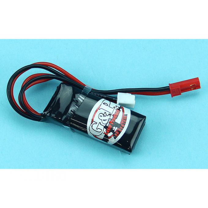 G&P 7.4V 380mAh Li-Po Battery for HPA System JST
