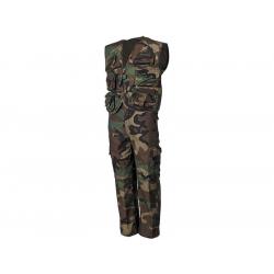 Komplet dětský vesta+kalhoty WOODLAND, velikost XS