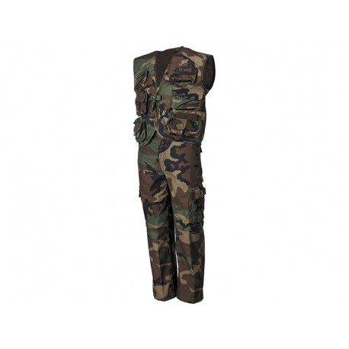 Kid´s vest and pants WOODLAND, size XS