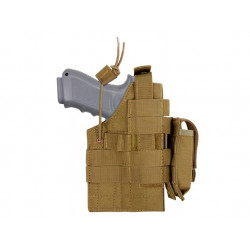 Pouzdro pistolové MOLLE glock oboustranné COYOTE BROWN