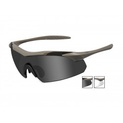 Goggles VAPOR Smoke Grey + Clear/Matte Tan