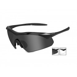 Goggles VAPOR Smoke Grey + Clear/Matte Black