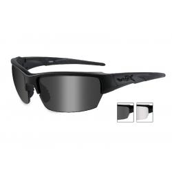 Brýle SAINT Smoke Grey + Clear/Matte Black