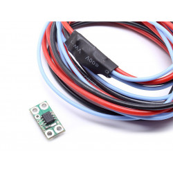 MOSFET with active brake Micro with complete wiring