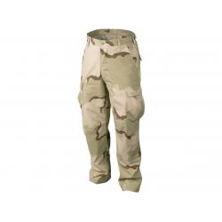Pants rip-stop BDU US desert, XS-Regular