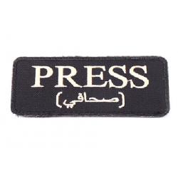 Patch PRESS, černý