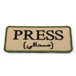 PRESS EMBROIDERY PATCH - DE